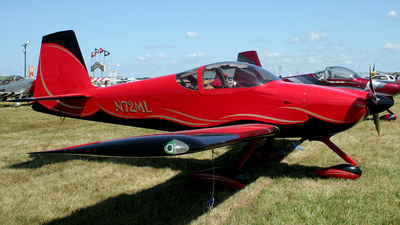A picture of N72ML - Van's RV7A - [70928] - © Terry Figg