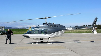 G-HPAD - Bell 206B JetRanger II - Private