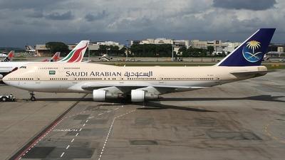 TF-ARS - Boeing 747-357 - Saudi Arabian Airlines (Air Atlanta Icelandic)