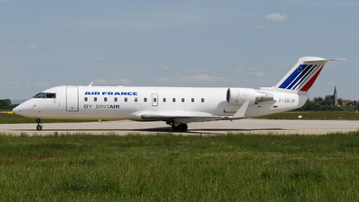 F-GRJP - Bombardier CRJ-100ER - Air France (Brit Air)