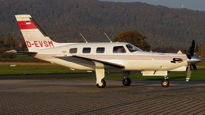 D-EVSM - Piper PA-46-350P Malibu Mirage/Jetprop DLX - Private