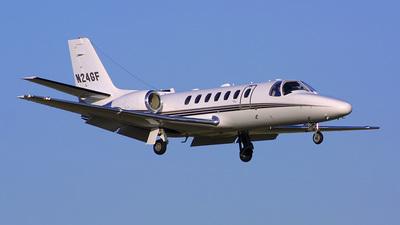 A picture of N24GF - Cessna 560 Citation Encore - [5600639] - © Bruce Leibowitz