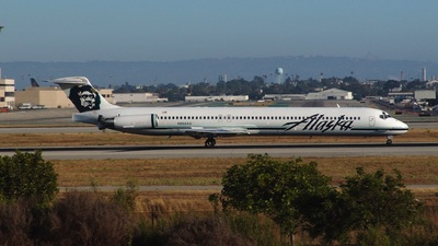 N968AS - McDonnell Douglas MD-83 - Alaska Airlines