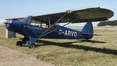 G-ARVO - Piper PA-18-105 Super Cub - Private