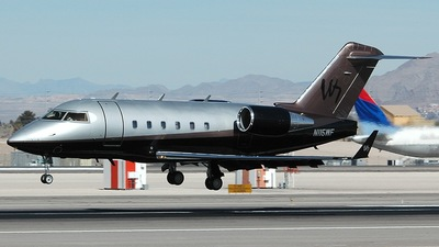 A picture of N115WF - Bombardier CL601 Challenger - [5153] - © Andrew Riedel - YYC Airport Watch