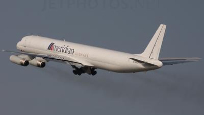 9G-AXC - Douglas DC-8-63(F) - Meridian Airways