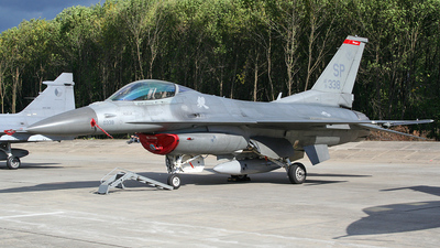91-0338 - Lockheed Martin F-16CJ Fighting Falcon - United States - US Air Force (USAF)