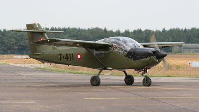 T-411 - Saab T-17 Supporter - Denmark - Air Force
