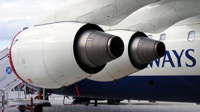 G-BXAS - British Aerospace Avro RJ100 - BA CityFlyer