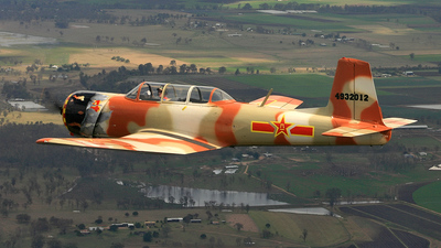 VH-NNZ - Nanchang CJ-6A - Private