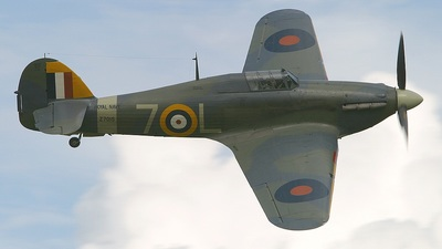 G-BKTH - Hawker Sea Hurricane 1.B - Private