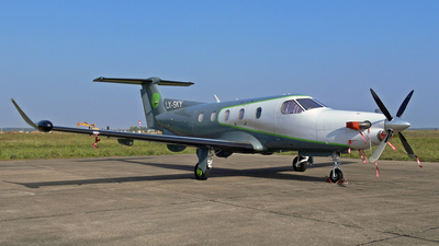 LX-SKY - Pilatus PC-12 - Private