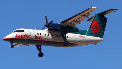 N987HA - Bombardier Dash 8-Q202 - America West Express (Mesa Airlines)