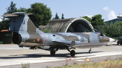 MM6831 - Lockheed F-104S ASA-M Starfighter - Italy - Air Force