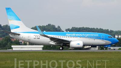 VH-VBB - Boeing 737-7Q8 - Aerolíneas Argentinas