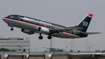 N512AU - Boeing 737-3B7 - US Airways
