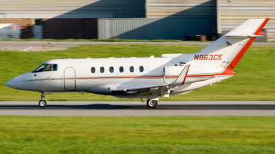 N863CE - Raytheon Hawker 800XP - Private