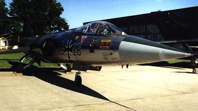 26-26 - Lockheed F-104G Starfighter - Germany - Air Force