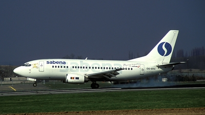 OO-SYH - Boeing 737-529 - Sabena