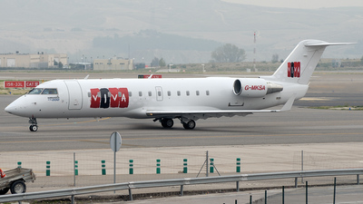 G-MKSA - Bombardier CRJ-200LR - Markoss Aviation