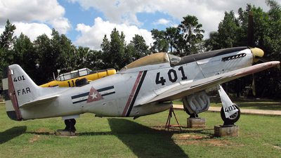 401 - North American P-51D Mustang - Cuba - Air Force