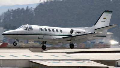 IGM-628 - Cessna 550 Citation II - Ecuador - Air Force