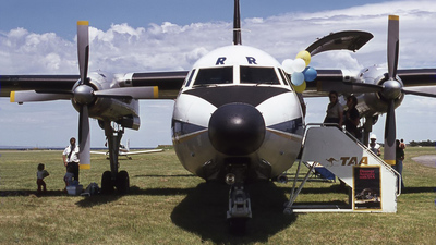 VH-TQR - Fokker F27-600 Friendship - Trans Australia Airlines (TAA)