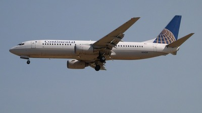 N14219 - Boeing 737-824 - Continental Airlines
