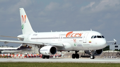 VP-BVA - Airbus A320-233 - ACES Colombia