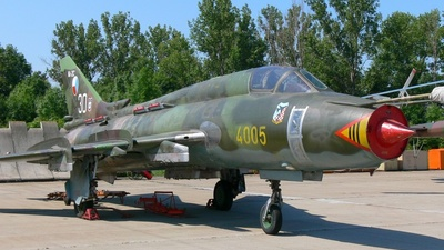 4005 - Sukhoi Su-22M4 Fitter K - Czech Republic - Air Force