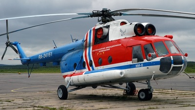 RA-24161 - Mil Mi-8T Hip - Murmansk Aviation Company