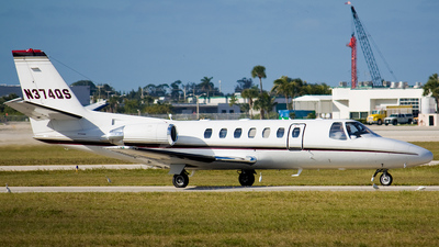 N374QS - Cessna 560 Citation Ultra - NetJets Aviation