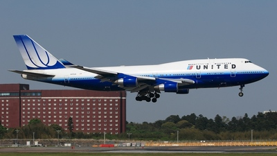 N175UA - Boeing 747-422 - United Airlines