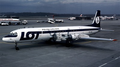 SP-LSB - Ilyushin IL-18V - LOT Polish Airlines