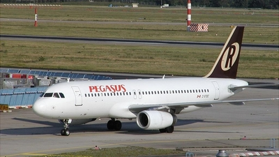 C-GTDC - Airbus A320-232 - Pegasus Airlines