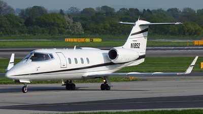 N1852 - Bombardier Learjet 55 - Private