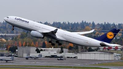 D-AIKC - Airbus A330-343 - Lufthansa