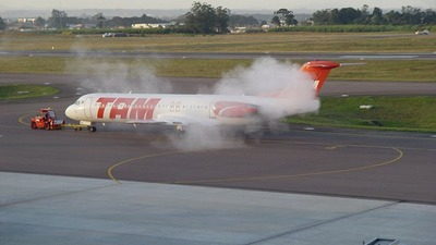 PT-MQE - Fokker 100 - TAM Linhas Aéreas