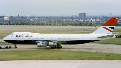 G-AWNE | Boeing 747-136 | British Airways | Daniel Tanner ...