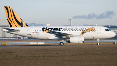 D-AVXC - Airbus A319-132 - Tiger Airways