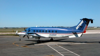 N148SK - Beech 1900D - Midwest Connect (Skyway Airlines)