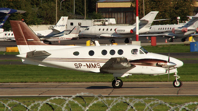 SP-MMS - Beechcraft C90GTi King Air - Ad Astra Executive Charter