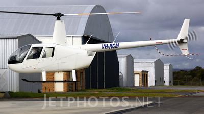 VH-RCM - Robinson R44 Raven - Private
