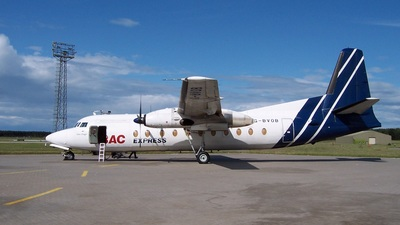 G-BVOB - Fokker F27-500 Friendship - BAC Express Airlines