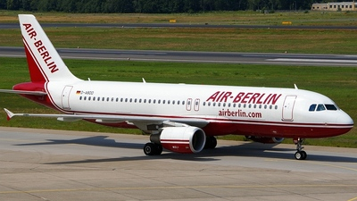 D-ABDD - Airbus A320-214 - Air Berlin