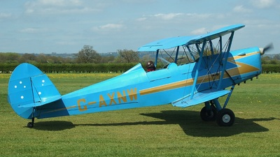 A picture of GAXNW - Stampe SV4C - [381] - © Brian Whitelegg