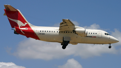 VH-NJW - British Aerospace BAe 146-200 - Qantaslink