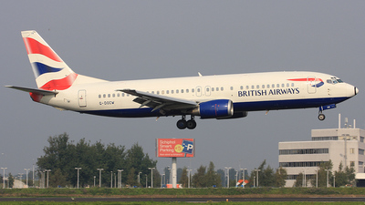 G-DOCW - Boeing 737-436 - British Airways