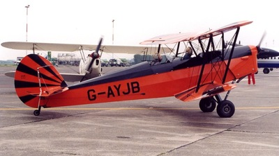 G-AYJB - Stampe and Vertongen SV-4C - Private