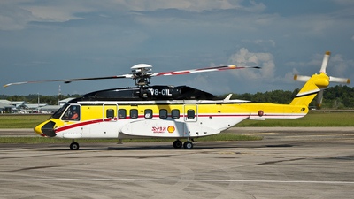 V8-OIL - Sikorsky S-92 Helibus - Shell Aviation